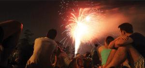 Evanston fireworks