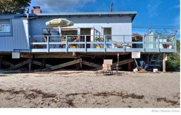 Eve Plumb's Beachfront home in Malibu